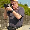 Photographing at the Nagasaki Peace Park
