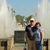 Alan and Donna Hull at the Fountain of Peace