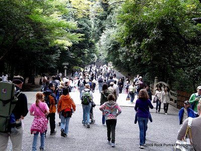 The march to the shrine