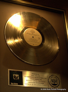 Van Halen - Women and Children First - Gold Record