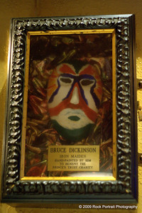 Iron Maiden's Bruce Dickinson is also a talented artist, poet, writer, playwright and pilot.
