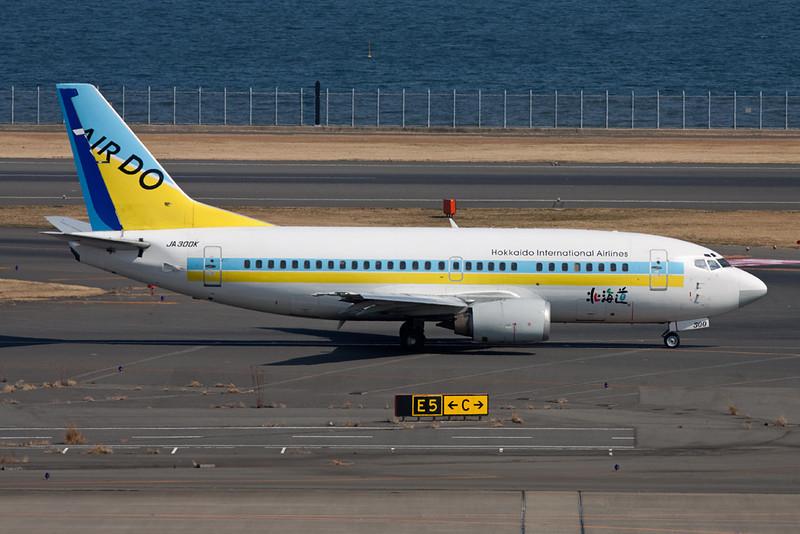 JA300K Boeing 737-54K c/n 27434 Tokyo-Haneda/RJTT/HND 25-02-11