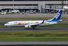 """JA85AN Boeing 737-881 Tokyo-Haneda/RJTT/HND 20-10-17 """"Flower Jet"""""""