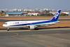 "JA8569 Boeing 767-381 c/n 27050 Miyazaki/RJFM/KMI 13-01-14 ""Inspiring Japan"""