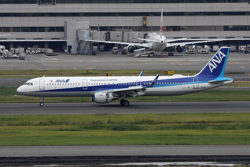 JA114A Airbus A321-211 c/n 7493 Tokyo-Haneda/RJTT/HND 20-10-17
