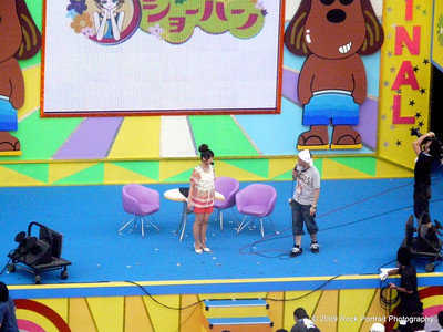Kids TV show in Odaiba