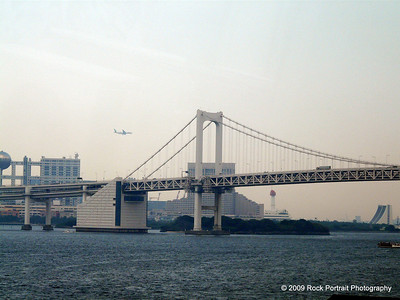 The bridge to Odaiba from Ginza