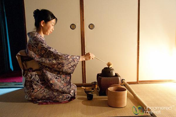 Japanese Tea Ceremony - Kyoto, Japan