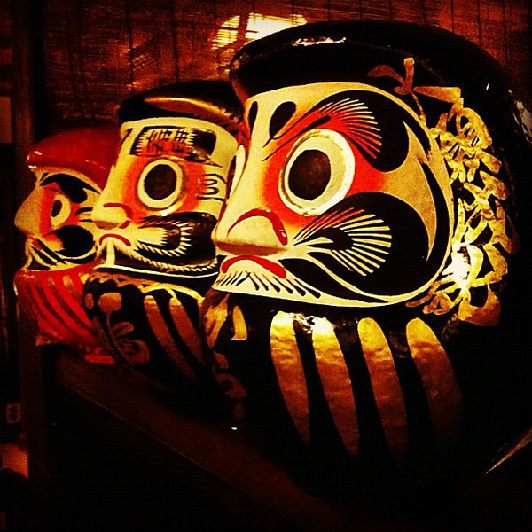 Daruma, the tumbling doll of good luck and perseverance -- Takayama, Japan #dna2japan #gadv