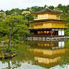 Kinkaku-ji Zen Temple (Golden Pavillion)  - Kyoto, Japan