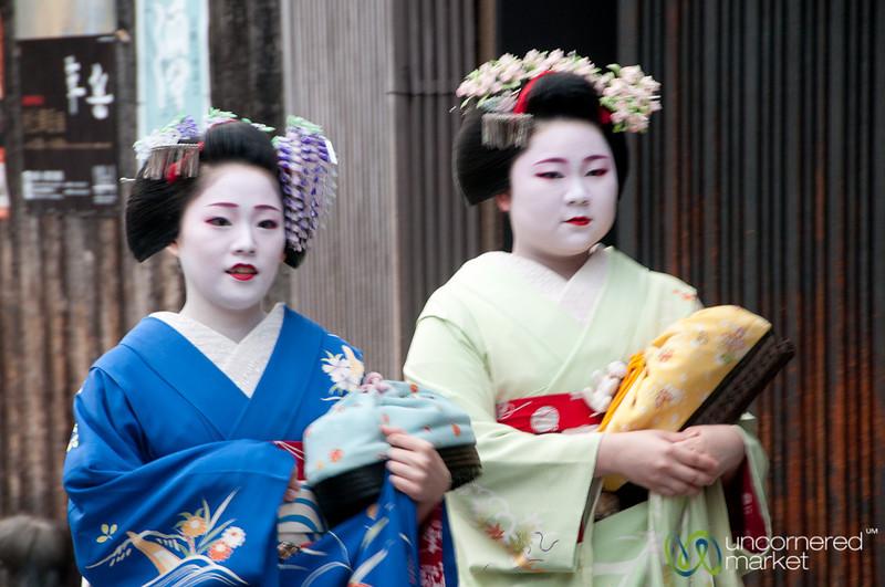 Geisha Encounters in Gion, Kyoto