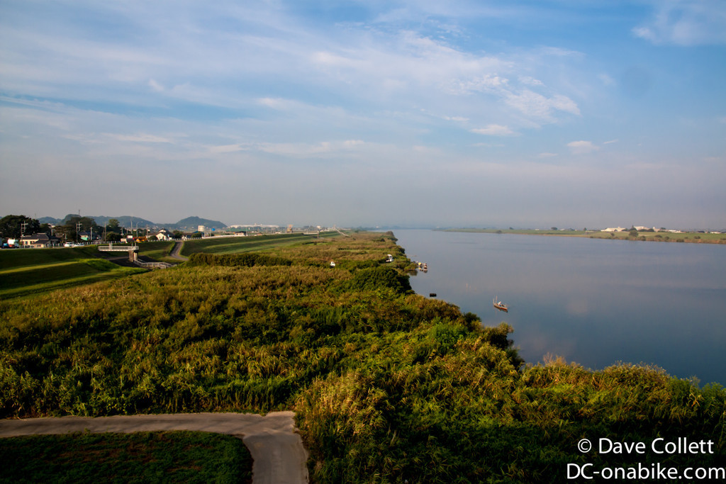 Wide view of the river