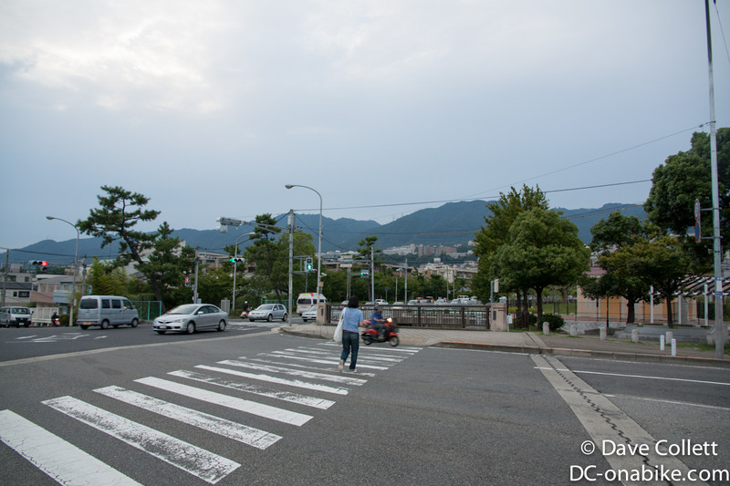 Hills above Kobe