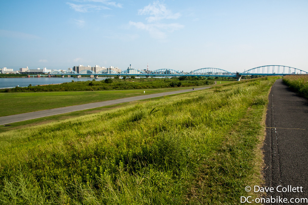 Following the river out of Osaka