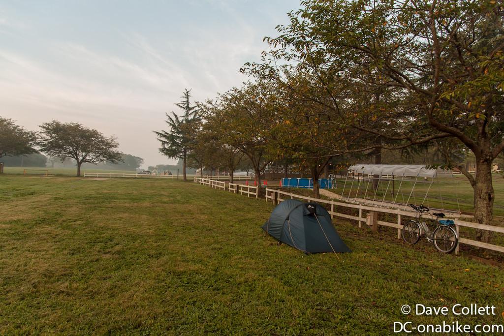 Campground to myself