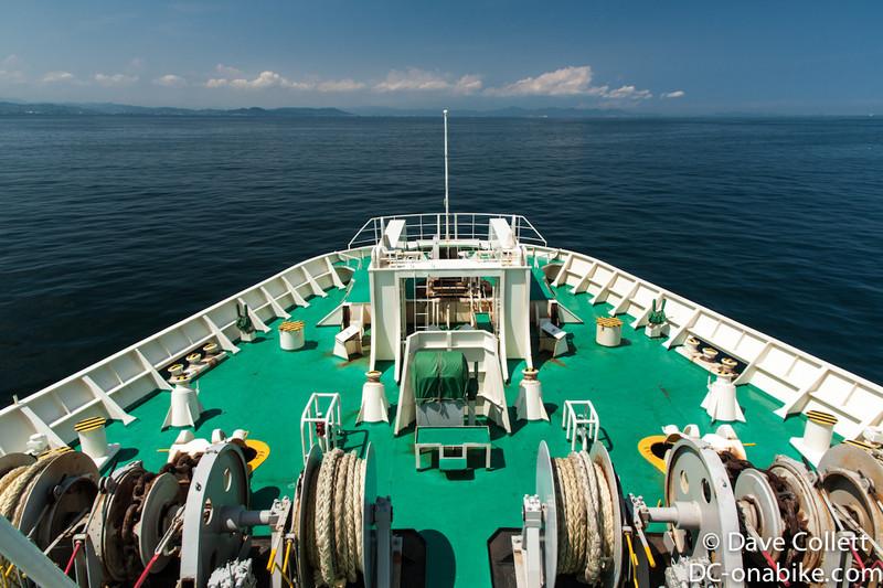 Heading towards Tokushima
