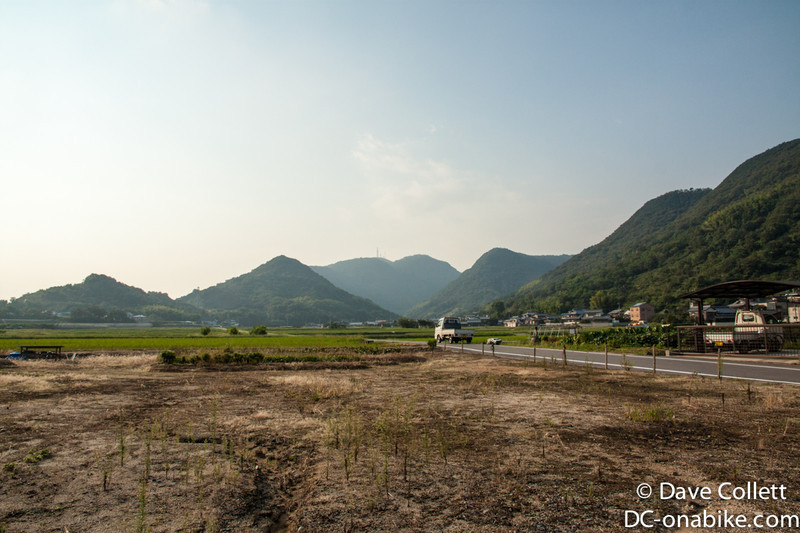 Country riding on Shikoku