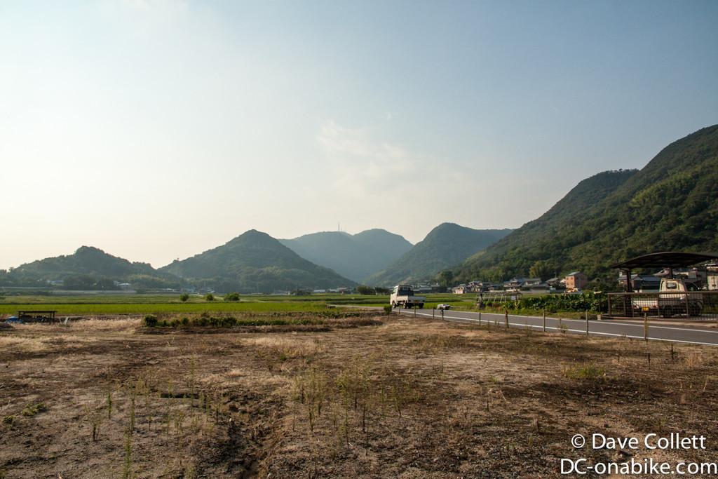 Country riding on Shikoku