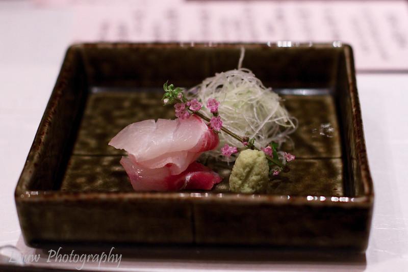 Kurodai sashimi from Chiba prefecture, Esaki, Tokyo, Japan
