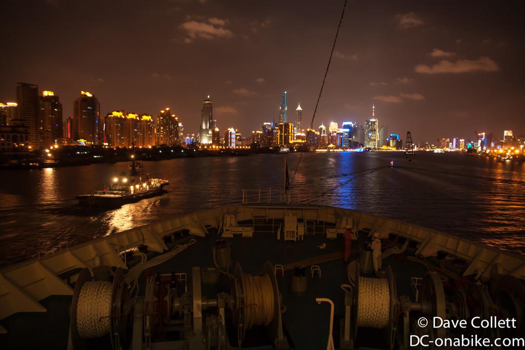Shanghai lit up