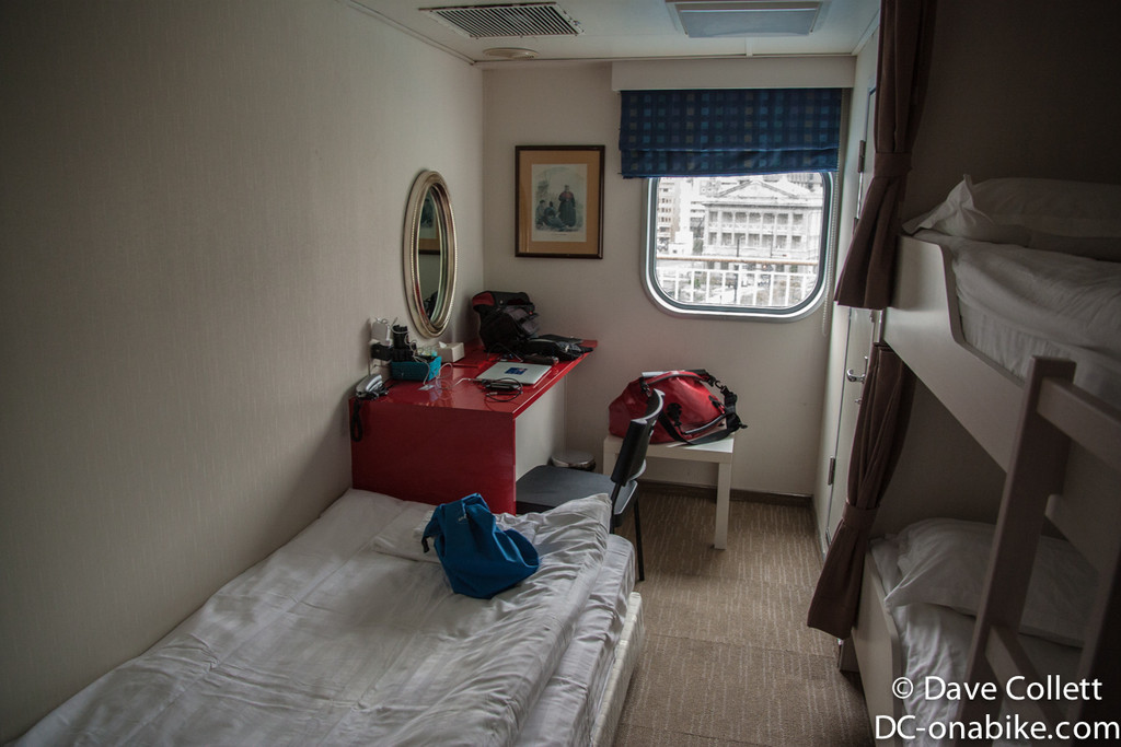 My room on the ferry