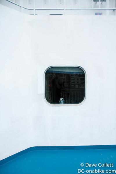 GoPro in my window