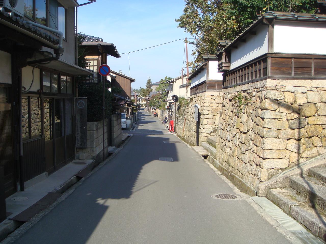 Exploring the alleys of Miyajima, Japan