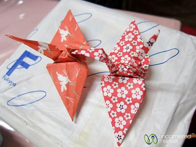 Origami Paper Cranes - Hiroshima, Japan