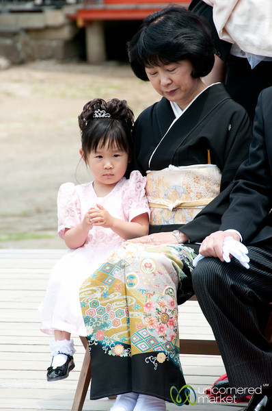 Japanese Wedding, All Dressed Up - Itsukushima Shinto Shrine, Miyajima