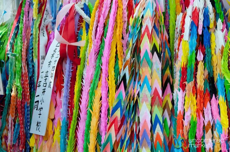 Thousand Cranes at Children's Peace Monument - Hiroshima, Japan