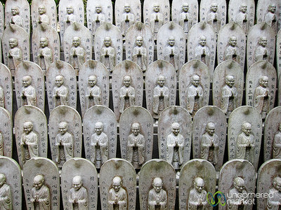 Buddhist Statues at Daisho-In Temple - Miyajima, Japan