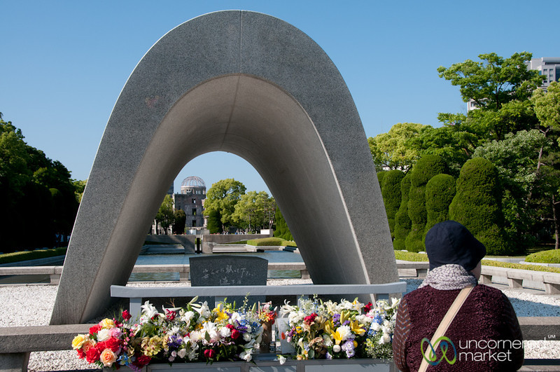 Hiroshima Peace Monument - Japan