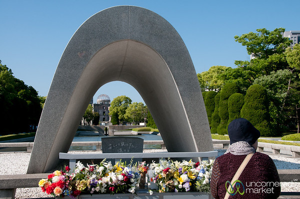 Hiroshima Peace Monument - Japan