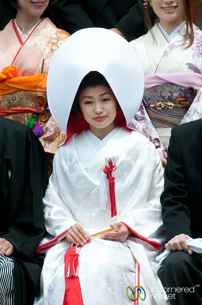 Japanese Bride - Itsukushima Shinto Shrine, Miyajima