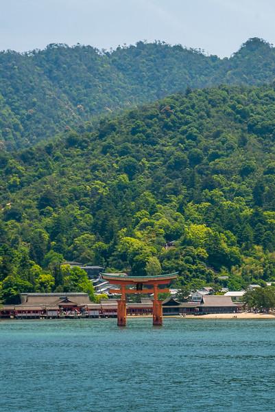 Miyajima Island, Hiroshima, Japan.
