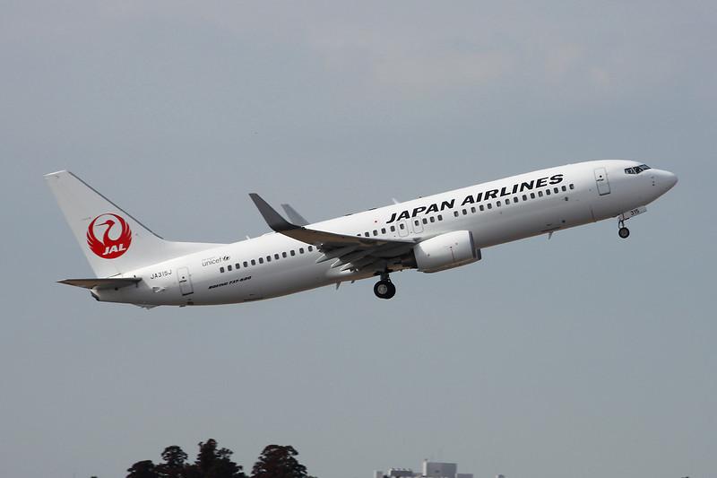 JA315J Boeing 737-846 c/n 35344 Tokyo-Narita/RJAA/NRT 03-03-13