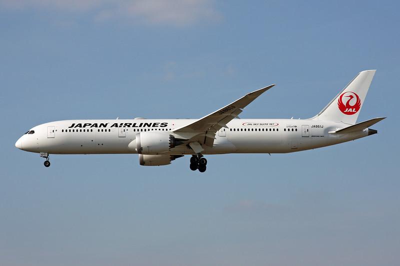 """JA861J Boeing 787-9 c/n 35422 Frankfurt/EDDF/FRA 24-09-16 """"JAL Skysuite 787"""""""