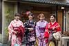 Women in Kimonos