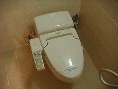 The toilet of tomorrow......TODAY
