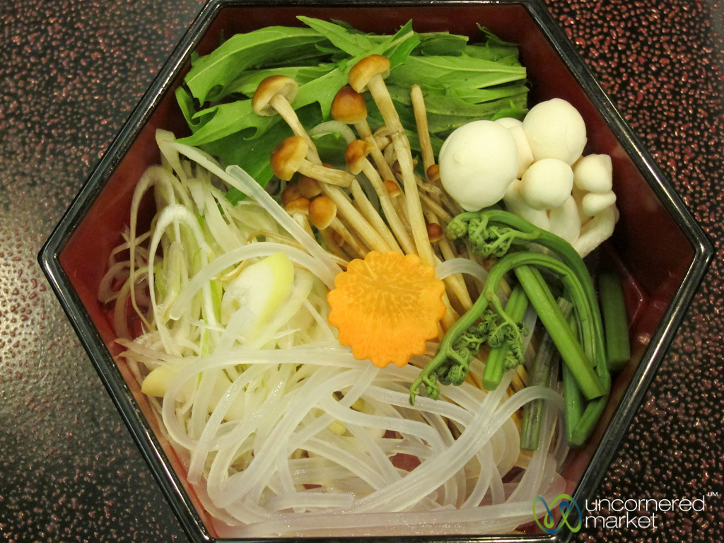 Kaiseki Dish of Raw Vegetables - Japan