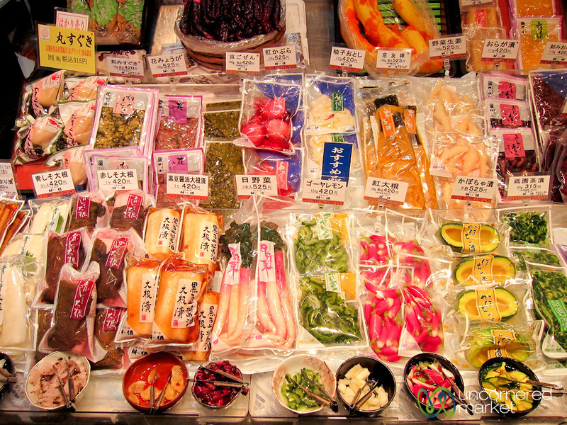 Pickled Vegetables of Every Variety - Nishiki Market, Kyoto