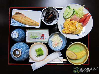 Japanese Breakfast - Takayama, Japan