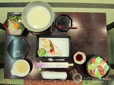 Kaiseki Ryori, Traditional Japanese Meal