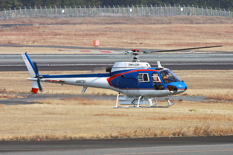 JA9731 Aerospatiale AS.350B1 Ecureuil c/n 2080 Miyazaki/RJFM/KMI 13-01-14