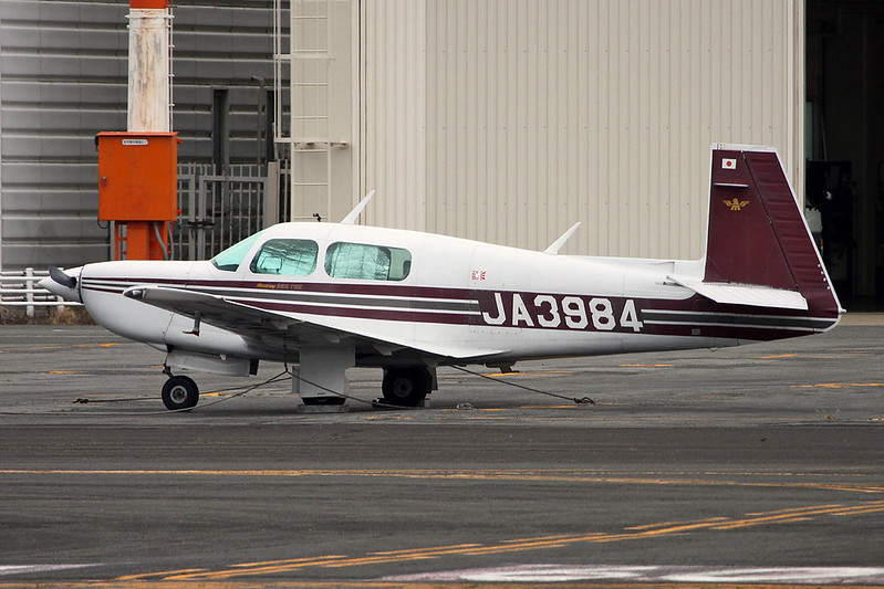 JA3984 Mooney M.20K c/n 25-1041 Yao/RJOY 24-10-17