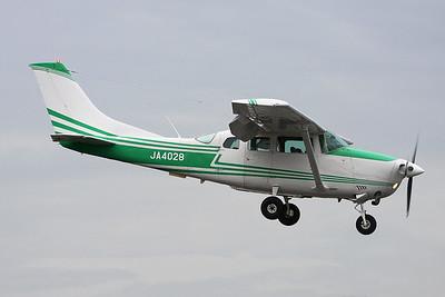 JA4028 Cessna U.206G Stationair 6 c/n U206-05416 Yao/RJOY 24-10-17