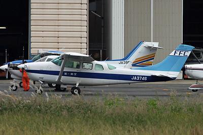 JA3746 Cessna TU.206F Turbo Stationair c/n U206-02818 Yao/RJOY 24-10-17