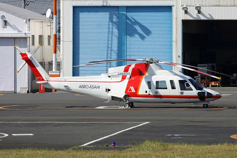 JA6655 Sikorsky S-76C c/n 760378 Tokyo-Heliport/RJTI 26-10-17