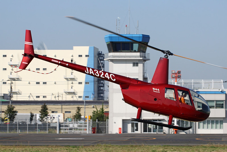 JA324C Robinson R-44 Raven II c/n 13289 Tokyo-Heliport/RJTI 26-10-17