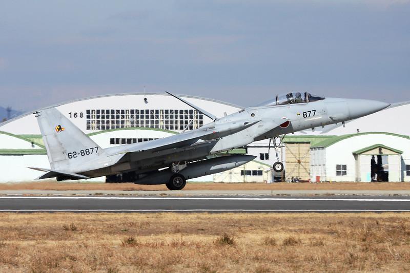 """62-8877 Mitsubishi F-15J Eagle """"JASDF"""" c/n 077 Nyutabaru/RJFN 15-01-14 """"23rd Hikotai"""""""